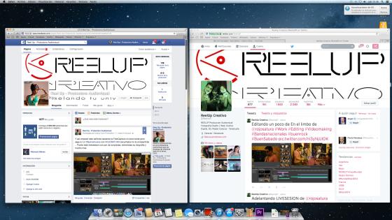 Redes Sociales de Reelup Creativo