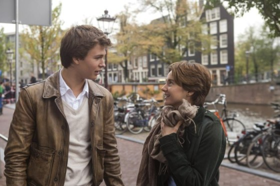 "Ansel Elgort y Shailene Woodley ""The Fault in Our Stars"""